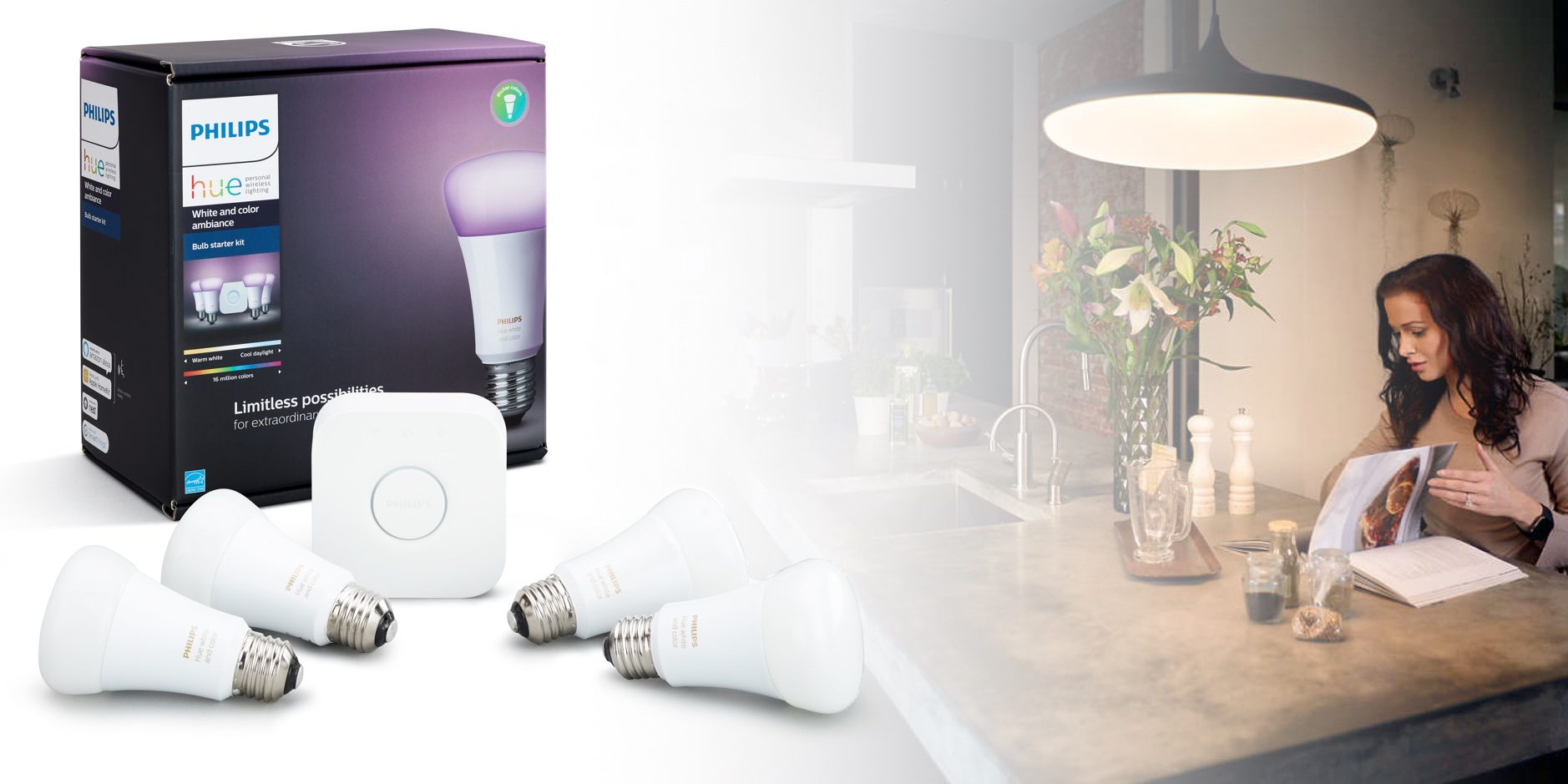 Philips Hue Starter Kits Now Better Value With 4 Bulbs Per