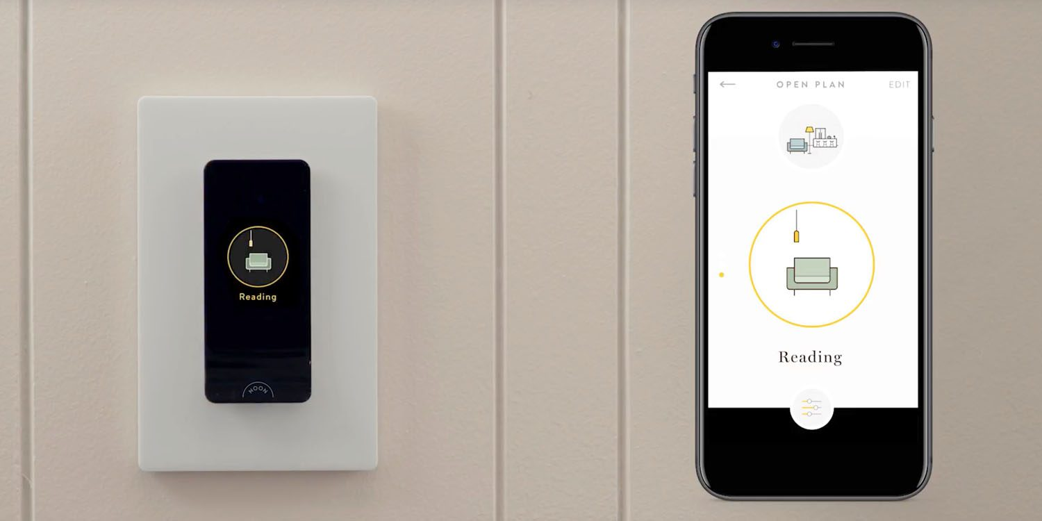 smart light switch w built in oled panel is an interesting alternative to smart bulbs video. Black Bedroom Furniture Sets. Home Design Ideas