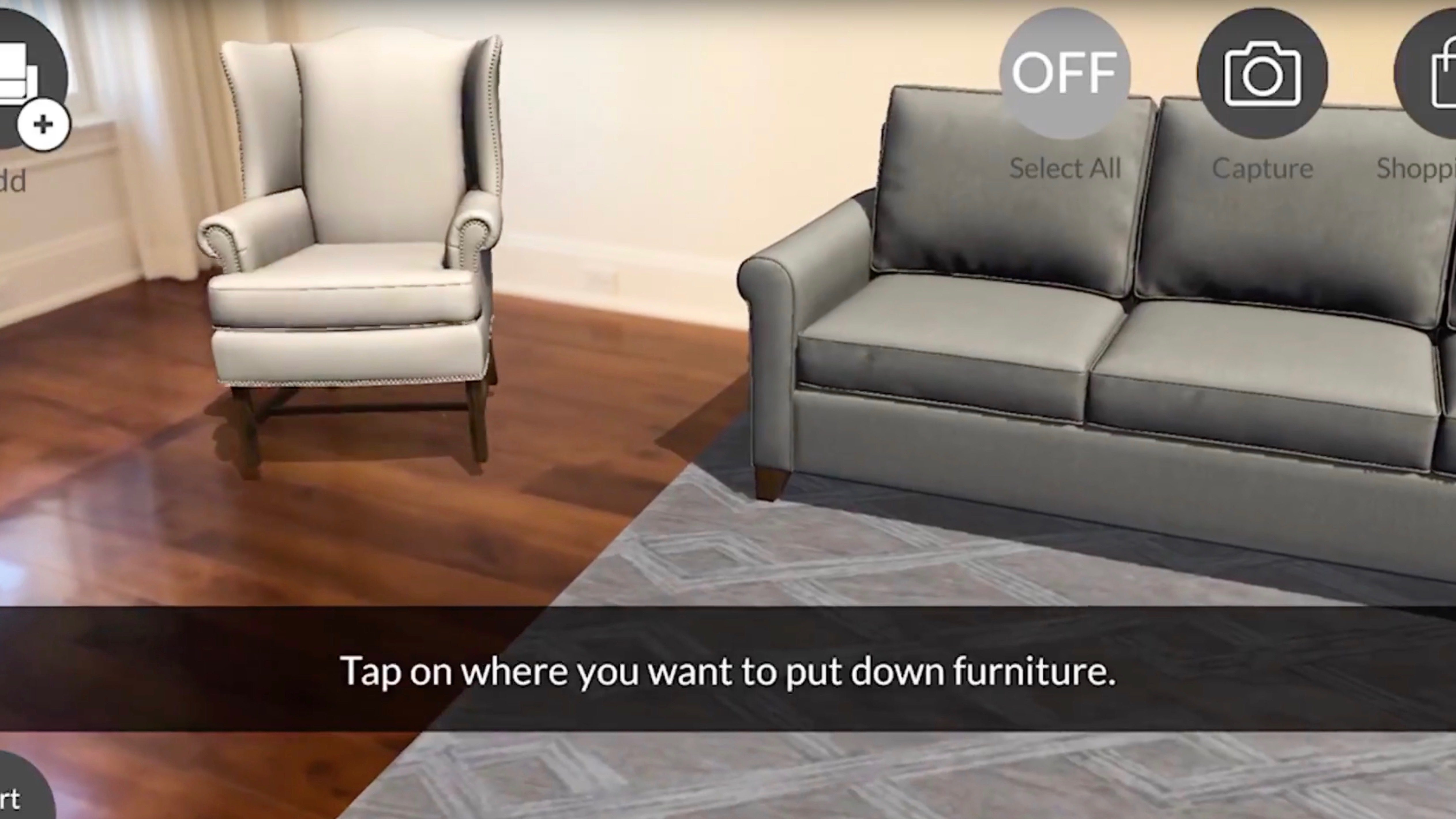 Pottery barn launches new ar app for easily visualizing for Furniture app