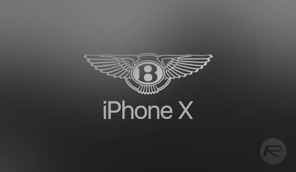 18k Gold Special Edition Bentley Iphone X Looks Insanely Expensive
