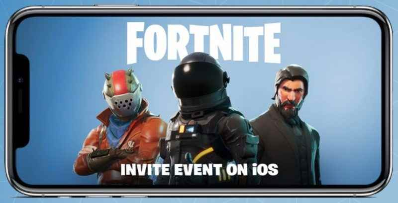 fortnite battle royale for iphone and ipad coming soon. Black Bedroom Furniture Sets. Home Design Ideas