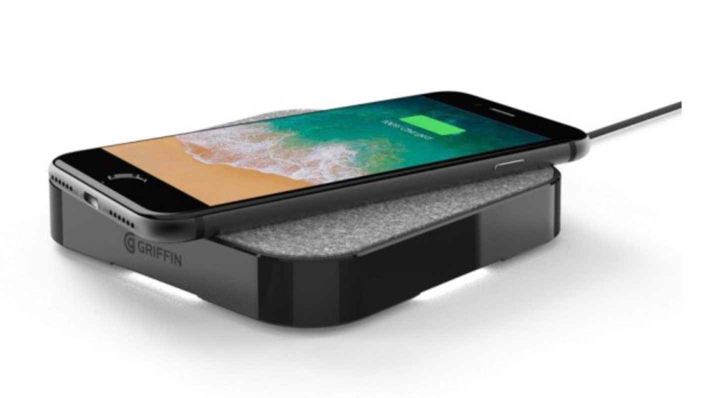 iphone charger pad griffin announces new powerblock wireless charging pad for 11734