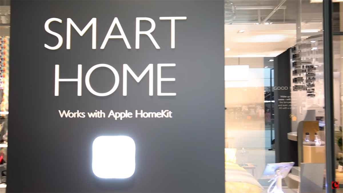 new john lewis store showcases homekit equipped apple smart home experience. Black Bedroom Furniture Sets. Home Design Ideas