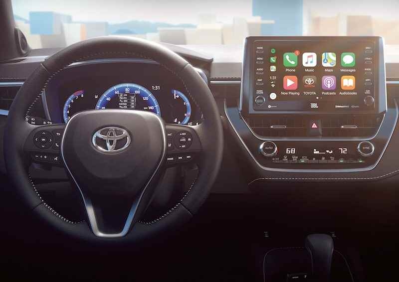 Toyota Continues Carplay Rollout With 2019 Corolla Hatchback