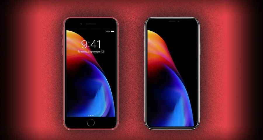 Download (PRODUCT)RED iPhone 8 And iPhone 8 Plus Wallpaper From Here