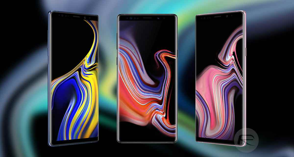 Download All Galaxy Note 9 Stock Wallpapers From Here