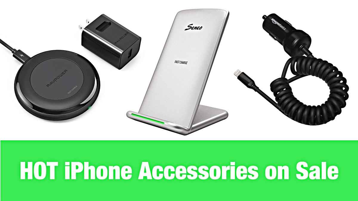 Hot Iphone Accessory Deals Ravpower Fast Wireless Charger