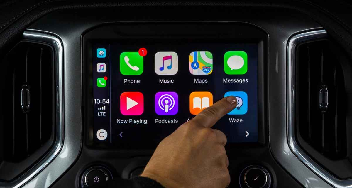 waze ios 12 update with carplay support now available to download. Black Bedroom Furniture Sets. Home Design Ideas