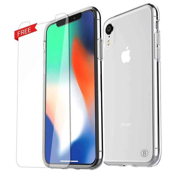 BASEUS Full Coverage For iPhone XR tempered glass 0.15mm