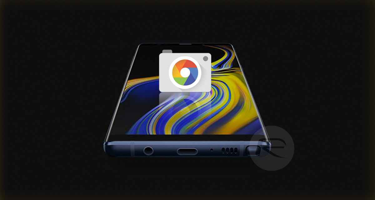 Download Google Camera Port APK For Galaxy S9, S9+, Note 9