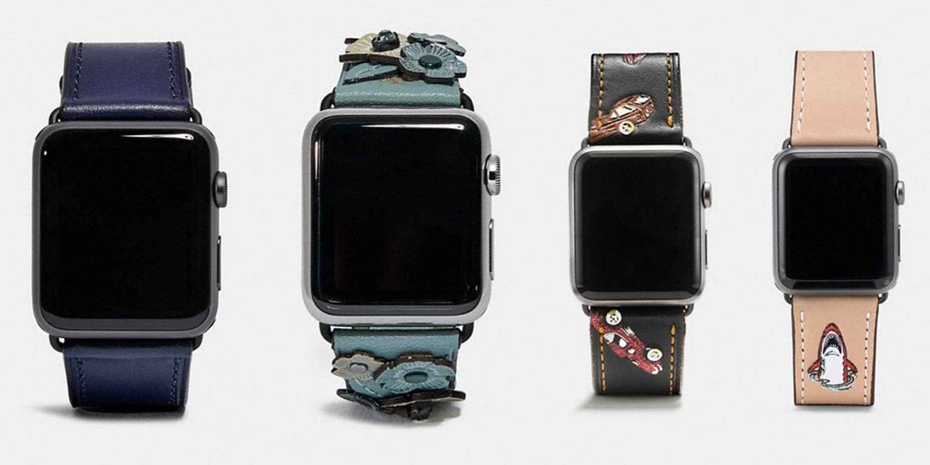 b8083c8a New Coach Apple Watch bands for fall, 50% of various styles