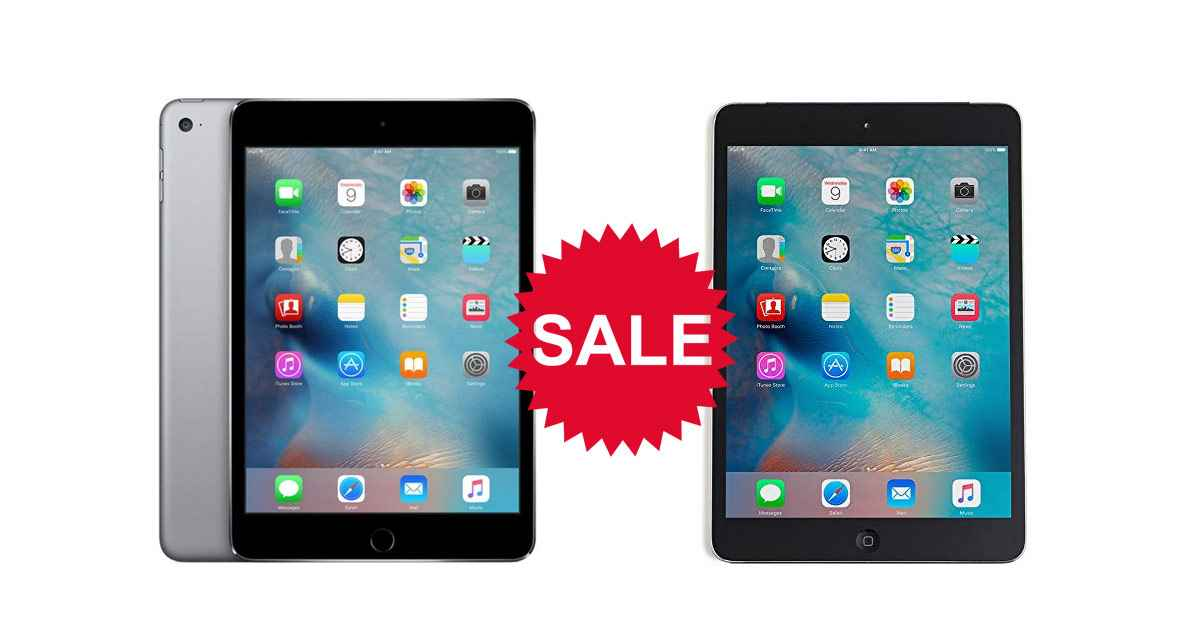 iPad Mini 4 Is Available Right Now For As Low As $229 ...