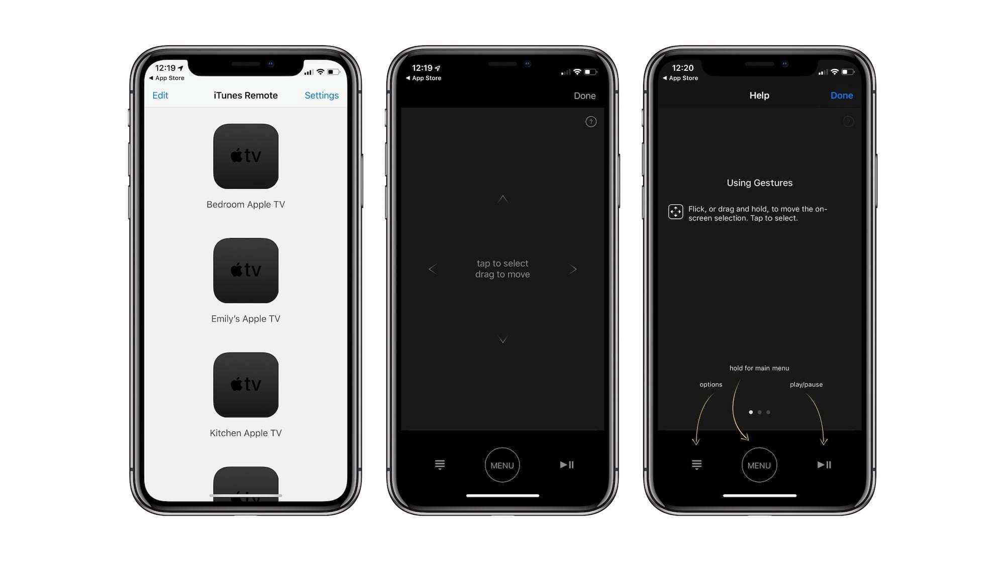 iTunes Remote app on iOS updated with bug fixes for Apple TV