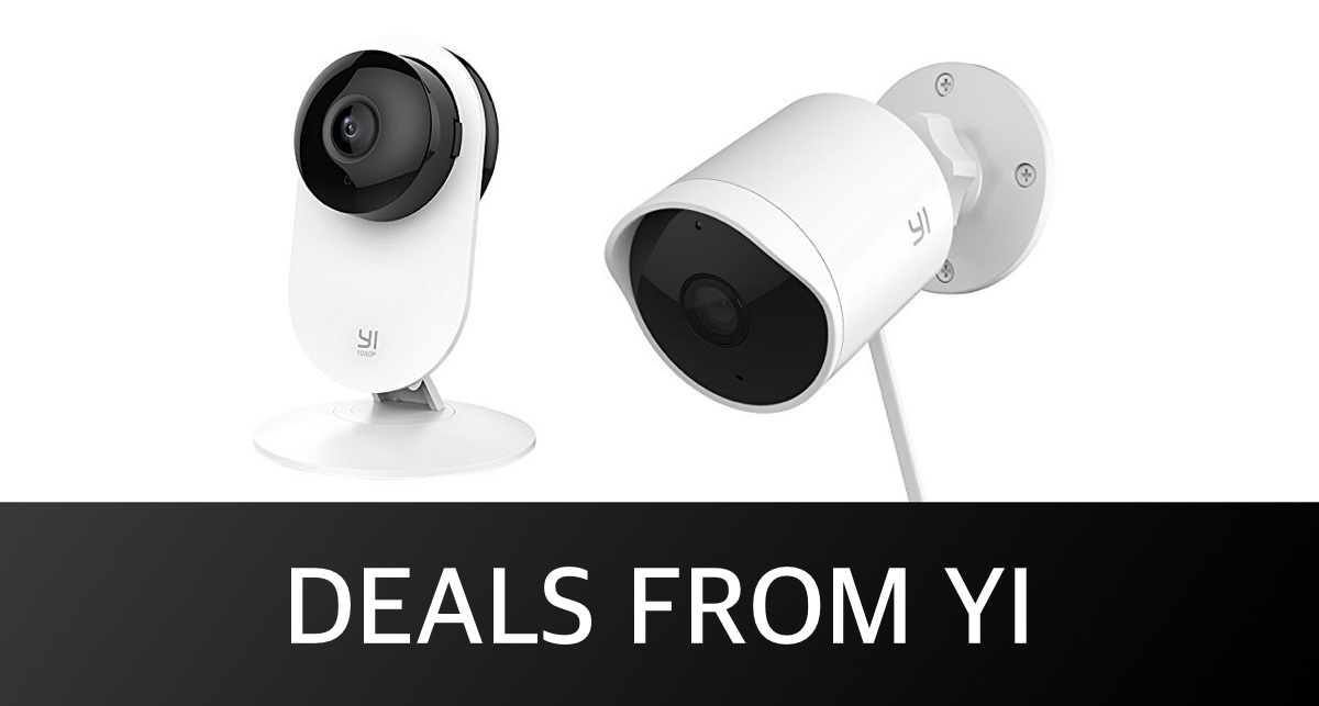 Deals From YI: Indoor Security Camera For $25 45, Outdoor