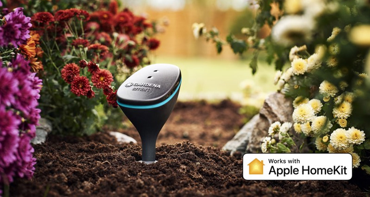 gardena lawn equipment manufacturer announces apple homekit support for its gardening products. Black Bedroom Furniture Sets. Home Design Ideas