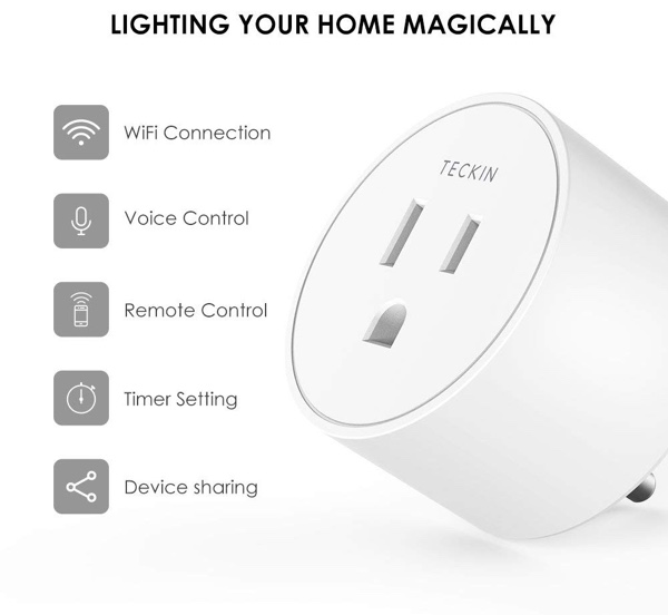 Google Home Enabled Smart Plugs