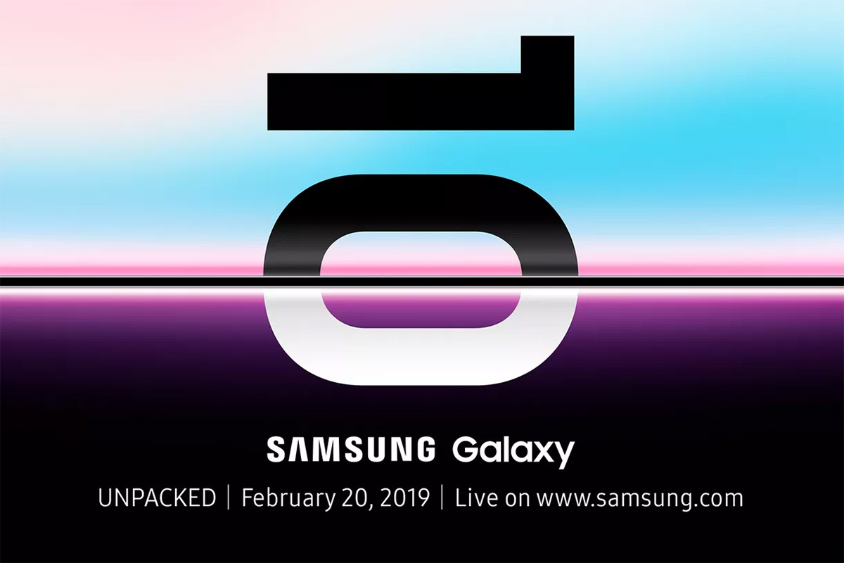 samsung galaxy s10 and foldable phone reveal date announced