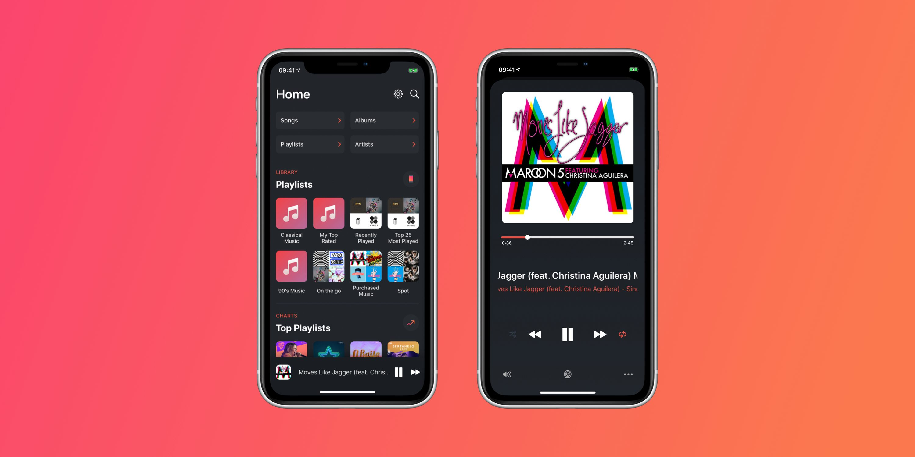 music player apple soor gesture navigation based