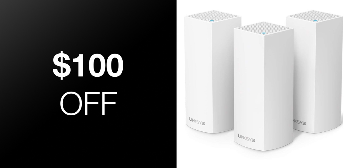Linksys Velop Tri Band Home Mesh Wifi System Two Pack And