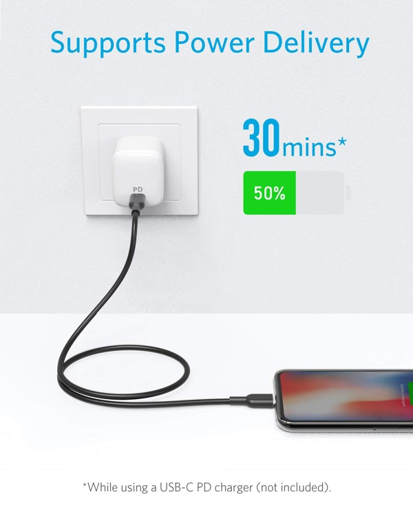 Anker Powerline Ii Usb C To Lightning Cable Drops To Just
