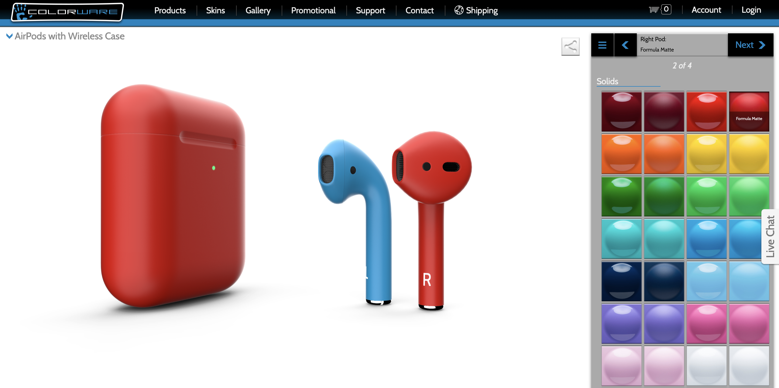 Colorware Custom Airpods 2 In Glossy And Matte Finishes
