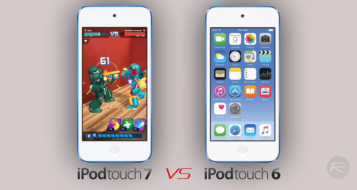 2019 ipod touch 7 vs ipod touch 6  what u0026 39 s changed