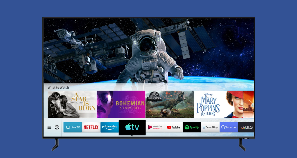 Samsung Smart TVs Get Apple TV App And AirPlay 2 Support