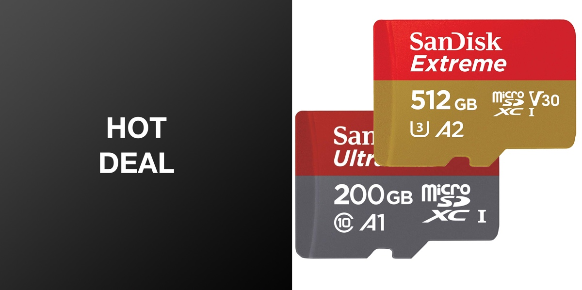 SanDisk's Extreme microSD Cards Are So Cheap Today That You