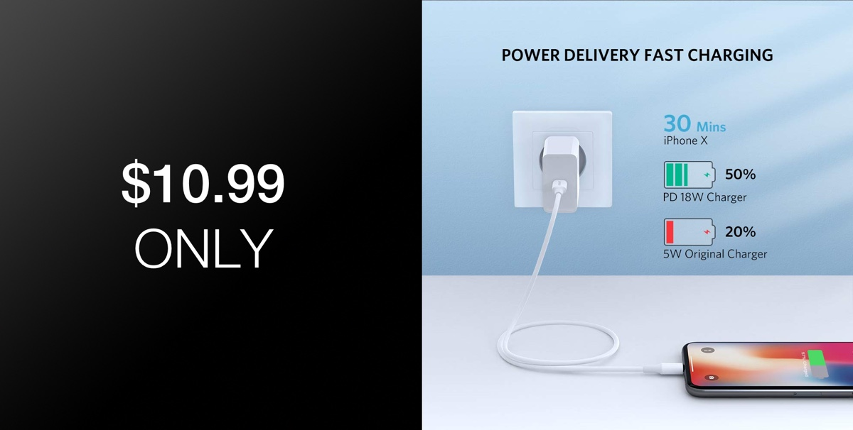 ugreen mfi certified usb c to lightning cable is a fast charging essential for iphone users 10. Black Bedroom Furniture Sets. Home Design Ideas