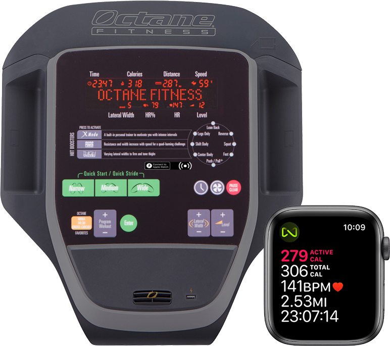 Fitness Equipment Industry Statistics: Octane Fitness Adds GymKit Support To Select Ellipticals