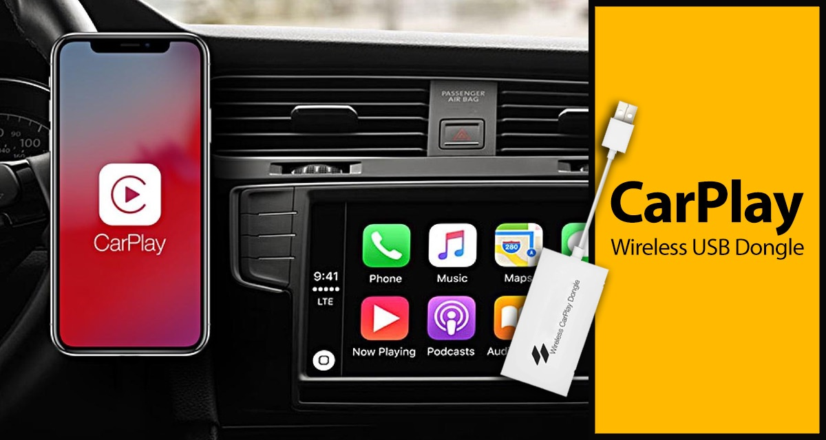 This Dongle Adds WIRELESS Apple CarPlay To Just About Any Car