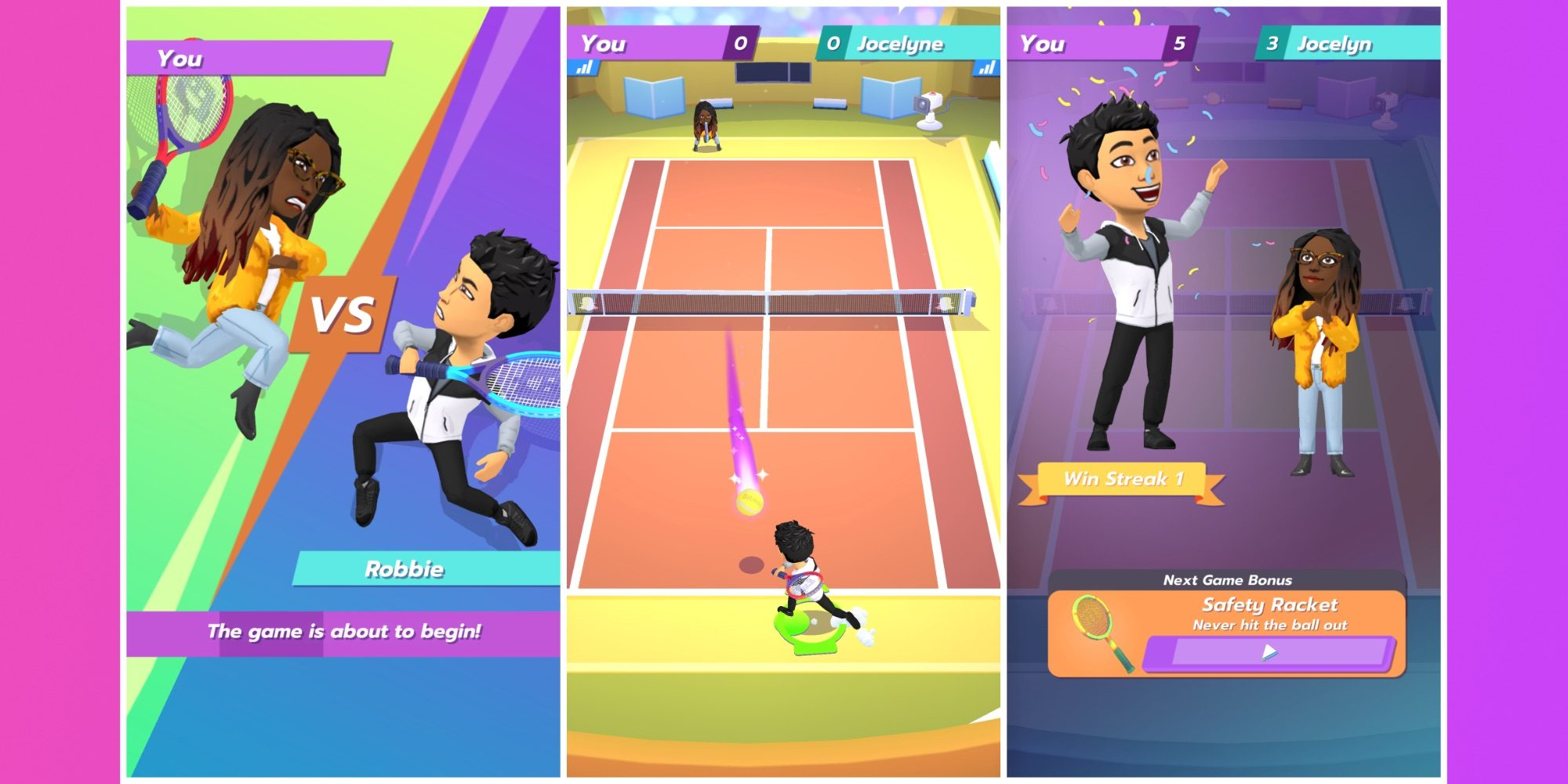 Multiplayer Games Snapchat Tennis' Snap Title Brings 'bitmoji To 54LAqcj3RS