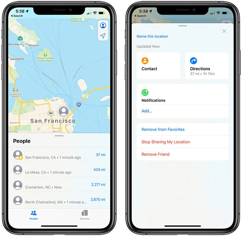 iOS 13: Everything You Need to Know About Apple's Find My App