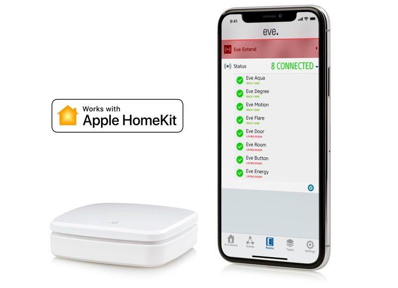 Review Eve Extend Adds Wi Fi Connectivity And Longer Range To Your Eve Bluetooth Homekit Devices