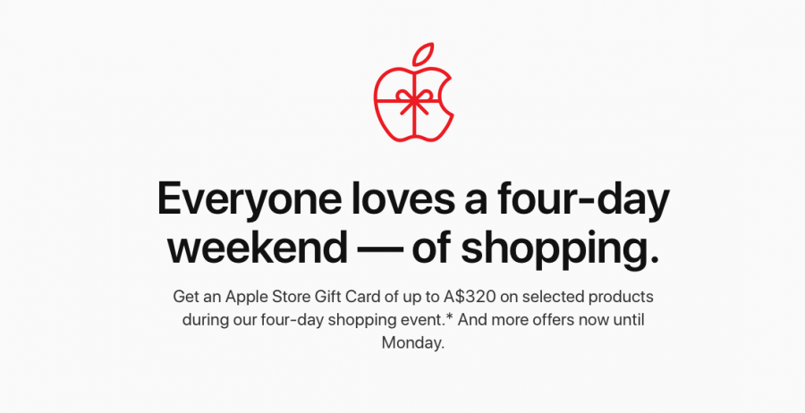 Apple S Black Friday Deals Go Live In Australia Free Gift Card With Select Iphone Ipad Airpods And Mac Purchases
