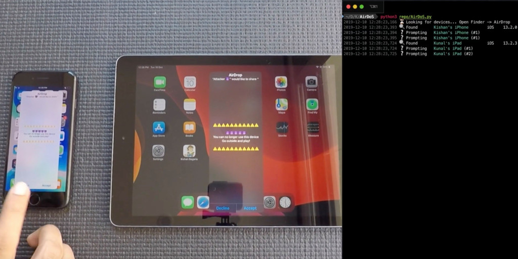 update your devices to ios 13 3 to avoid this airdrop flaw video. Black Bedroom Furniture Sets. Home Design Ideas